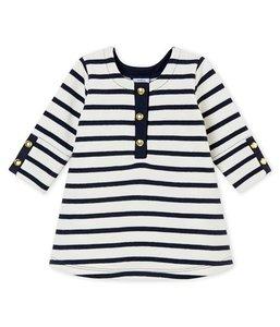 le petit bateau iconische jurk voor babymeisjes