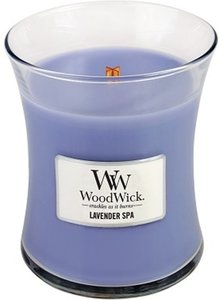 woodwick medium lavender spa