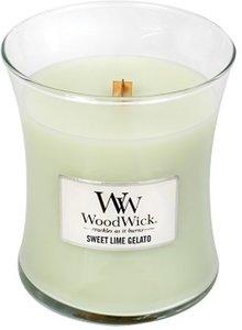 WoodWick medium sweet lime gelato