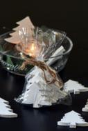 RM A white christmas decoration