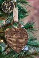 RM Christmas hanger heart