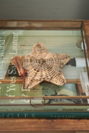 rustic rattan sea star