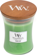 Woodwick medium candle palm leaf