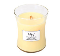 Woodwick Candle Mini Lemongrass & lily