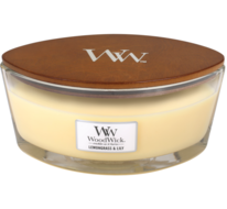 WoodWick Candle Ellipse Lemongrass & Lily